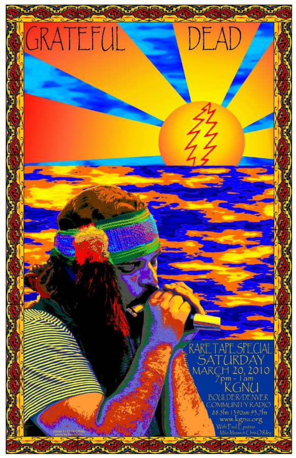 Kgnu Grateful Dead Special Posters